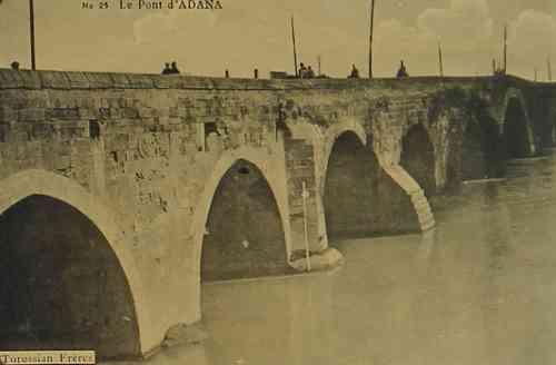 Adana stone bridge
