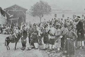 Wheat market in Marash