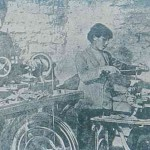 Young Armenians making ammunitions during the defense of Van