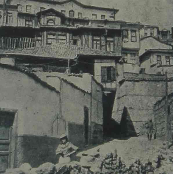 Ankara an old street – 1937