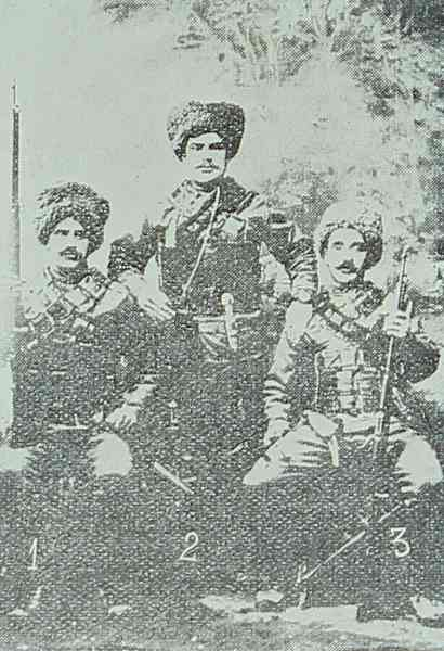 Aristakes, Mihran and Harutyun Tekeyan from Kesaria
