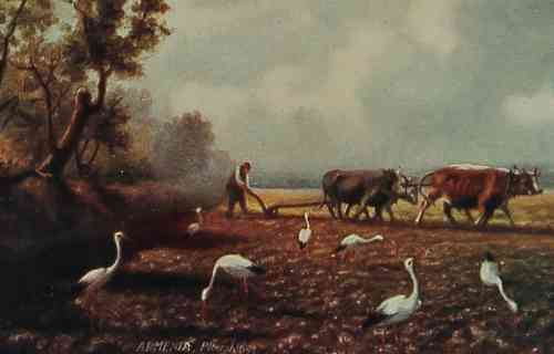 Armenia landscape painting