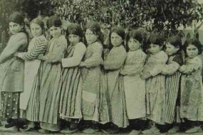 Armenian schoolgirls