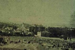 Cemetery in Garin