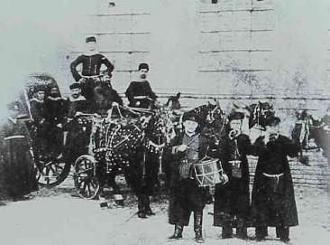 Feast in Tiflis in the 1870s