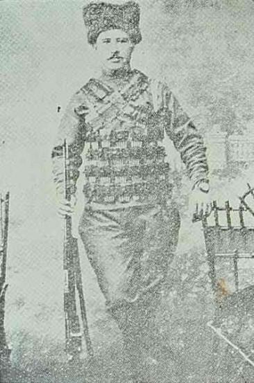 Fedayee Guiragos Khorshidian from Kesaria