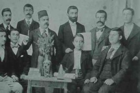 Armenian students and teachers – Samson 1900