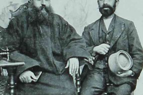 Father Arslanian and Hagop Fermanian – Kharpert