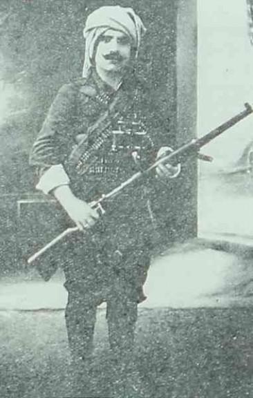 Fedayee Asadour Satjian, hero of Hajen