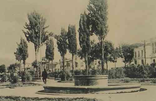 The municipal park of Samson