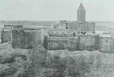 The red monastery of Asdabad