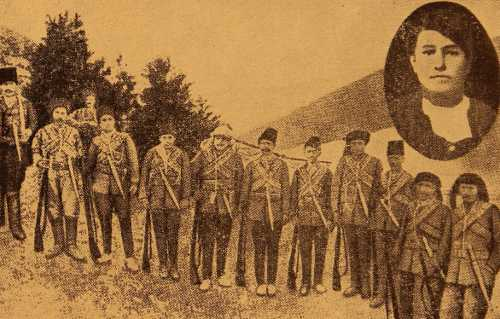 Samvel Indjeyan group of Yozgat fedayeen (partisans)