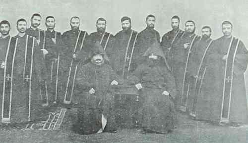 Armenian deacons in 1894