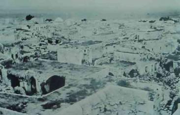 Armenian district after its destruction in Kharpert