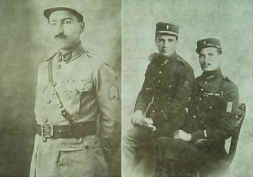 Armenian officers in the French Army – Adana