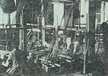 Mr Martin's manufacture of weaving