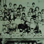 Pupils and teachers in Adana