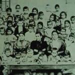 Pupils and teachers in Adana