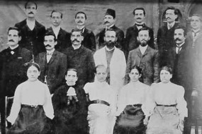 Teachers of the German College – Kharpert 1909