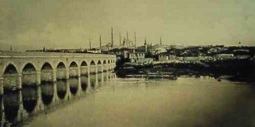 The Maritsa Bridge of Andrinople