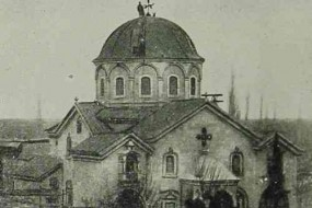 Armenian church in Darson – 1909