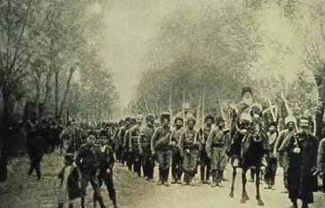 Armenian volunteers from Van – 1915