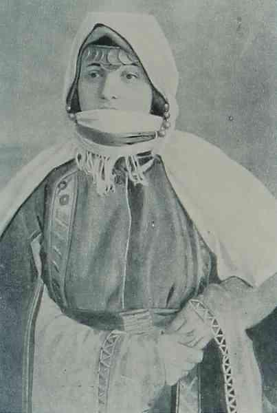Armenian woman from Artsakh