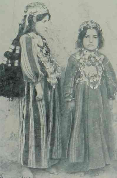 Young Armenian girls from Chatagh