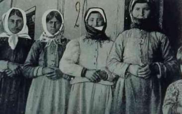 Armenian women from Garin