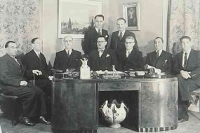 Board of the Armenian National Front – Paris 1945
