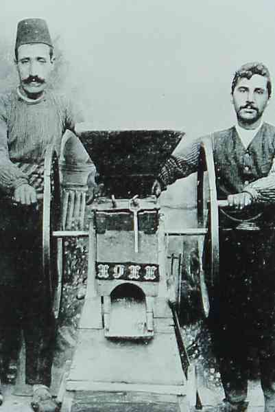 Bulghur machine in Kharpert – 1911