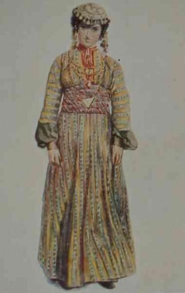 Armenian costume of Garin