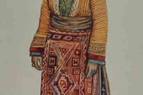 Armenian costume of Mush