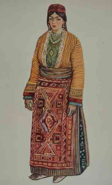 Armenian costume of Mush