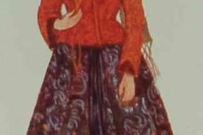 Armenian costume of Van