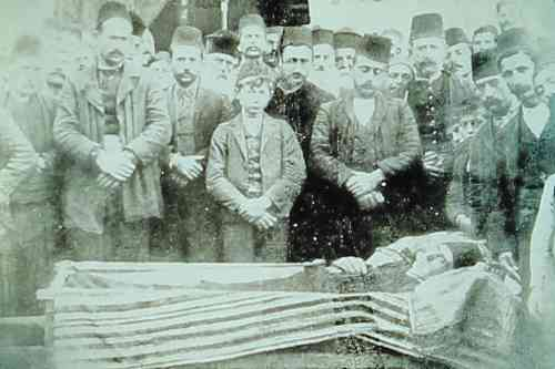 Funeral in Changeli – 1898