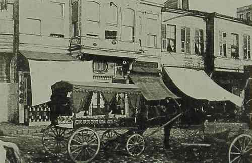 Horse-drawn omnibus in Andrinople – 1912
