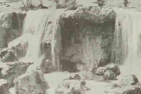 Kizilirmak Waterfall in Sebastia