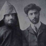 Komitas with his student Vahan Der-Arakelian