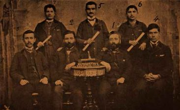 New graduates of the Seraydarian school – Sebastia 1895