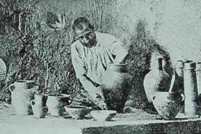 Pottery workshop in Kharpert