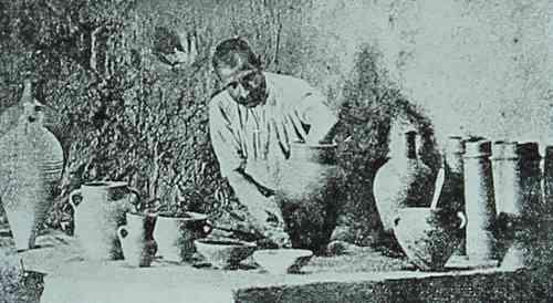 Pottery workshop in Kharpert