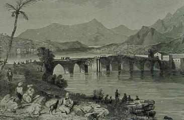 Roman bridge of Misis in Giligia