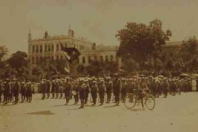 Scouts in Constantinople – 1918