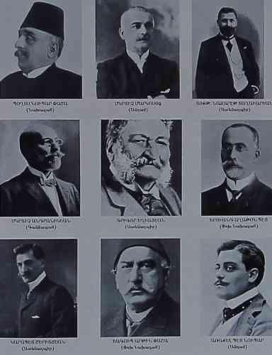 Founding members of AGBU – 1906