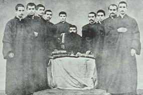 Young seminarians from Armash