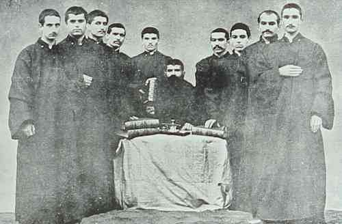 Young seminarians from Armash