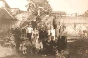 Akelian, Demirjian, Dermekjian (Dermekdian) and Donabedian families in Romans – France 1955