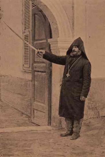 Archimandrite D. Partorimeos from Frnuz