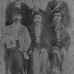 Harutiun Paraghamian with friends - Ourfa 1910
